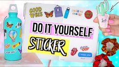 Diy Tumblr, Cali, Tumblr Sticker, Diy Back To School, Diy Chandelier, Diy Stickers, Diy Accessories, Vsco, Easy Diy