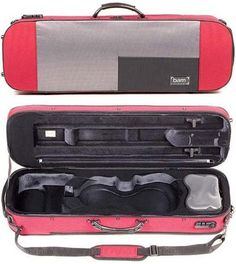 Bam Stylus 5001S 4/4 Violin Case Red Exterior « StoreBreak.com – Away from the busy stores