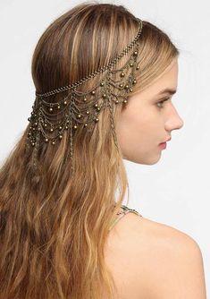 Chic Headbands for Long Hair