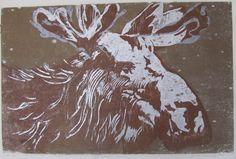 The Holder of Dargness, Maritta Meckelborg, woodcut