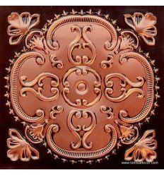 217 Antique Copper Faux Tin Ceiling Tile