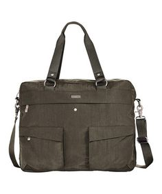 Another great find on #zulily! baggallini Dark Olive Executive Satchel by baggallini #zulilyfinds