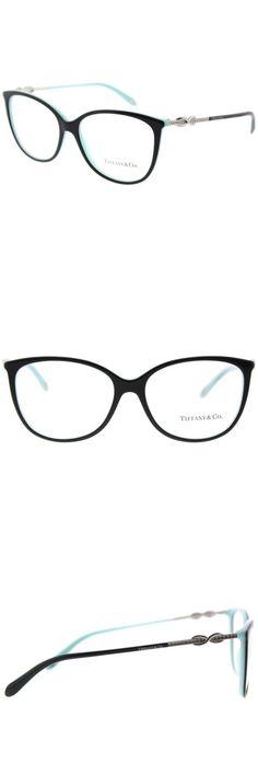 9729f97de8ae Fashion Eyewear Clear Glasses 179244  Tiffany And Co. Tf 2143B 8055 Black  On Blue Plastic Oval Eyeglasses 55Mm -  BUY IT NOW ONLY   189.99 on eBay!