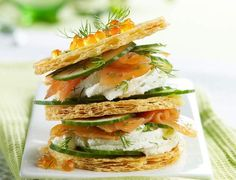 Feuilleté saumon concombreVoir la recette du Feuilleté saumon concombre