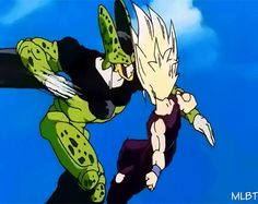 this was the moment when i was yelling at the TV because gohan was so badass