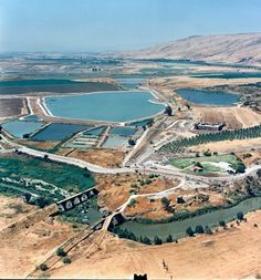 Creating water in the desert-miracle at the Negev