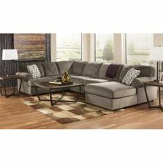 American Furniture Warehouse -- Virtual Store -- 3PC Dune Sectional w/RAF Chaise