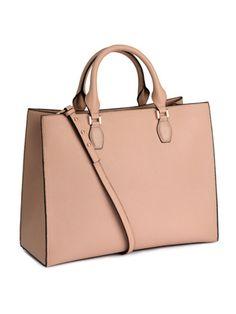 Handbag in grained imitation leather with a detachable adjustable shoulder stra Tesettür Çanta Modelleri 2020 H&m Handbags, Studded Handbags, Studded Purse, Leather Handbags, Red Shoulder Bags, Shoulder Handbags, Shoulder Strap, H&m Bags, Handbags