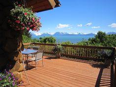 VRBO.com #501012 - Ta Da! Seclusion, Convenience, Waterfront, Mountain Views, Alaskan Character