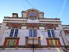 Licínio Pinto e Francisco Pereira   Estação Ferroviária de / Railway Station of Granja   1914 #Azulejo #LicínioPinto #FranciscoPereira