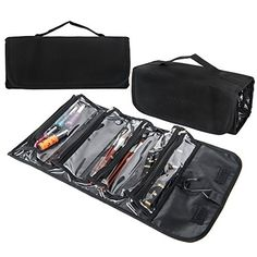SHANY Jet Setter Travel Makeup Bag  Clear with Matte Black Trim ** Check this awesome product by going to the link at the image.