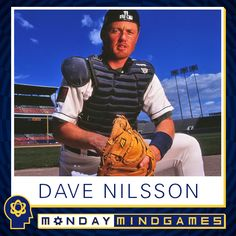 Here's the answer to yesterday's #Brewers Monday Mind Game. Did you get it right? #DaveNilsson
