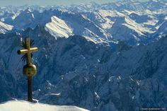 The Zugspitze is one of the most famous mountain peaks in the Alps. Measuring 2,962m, it is not only Germany's highest mountain, but also one of the most popular destinations for visitors from all over the world.  Zugspitzgipfel