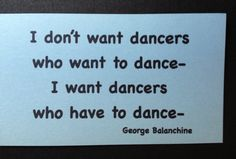 Dance truth