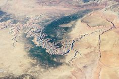 The Grand Canyon as seen from the International Space Station on March 25, 2014. Courtesy ISS Crew Earth Observations Facility and the Earth science and Remote Sensing Unit, Johnson Space Center. The image was taken by the Expedition 39 crew.