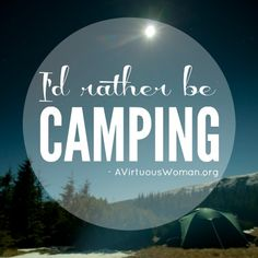 25 of the Best Camping Recipes @ AVirtuousWoman.org