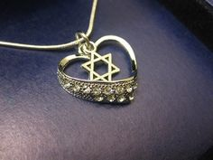 Hey, I found this really awesome Etsy listing at https://www.etsy.com/listing/128641962/jewish-necklace-star-of-david-necklace
