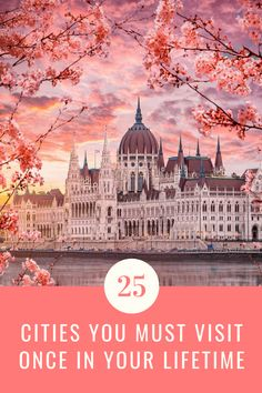 Check out these 25 beautiful cities you should definitely visit. Here are 25 amazing cities to add to your bucket list. Don't miss these stunning travel destinations. This list has only the best destinations to see at least once in your lifetime. |Amazing cities to add to your bucket list | Beautiful cities bucket list| #travel #cities #guide #wanderlust #beautifulcities #bucketlist #travelbucketlist #citiesbucketlist #topcities #mustseecities #stunningcities #mustseecities #mustvisistcities Bucket List Destinations, Amazing Destinations, Travel Destinations, Travel Info, Travel Guides, Cheap Travel, Budget Travel, Travel Tips, Places To Travel