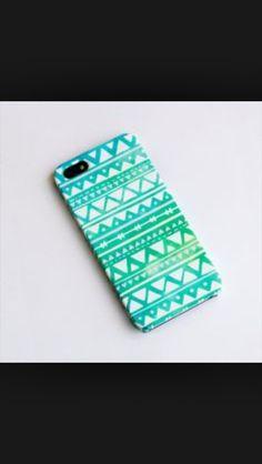 Super cute bluish green phone case for iphone