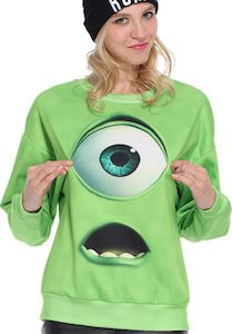 Monsters Inc. Mike Wazowski Sweater
