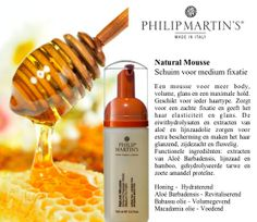 Philip Martin's natural mousse