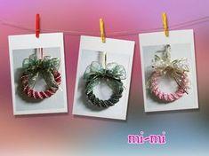 丸ダブル四つ畳リースの作り方♪   クラフトバックmi-mi Crochet Earrings, Christmas Ornaments, Holiday Decor, Paper, Home Decor, Decoration Home, Room Decor, Christmas Jewelry, Christmas Baubles