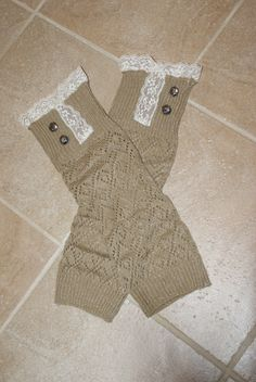 Tan Sparkles, Boot Sock Leg Warmers