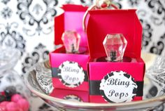 """Outside of box """"It's MY turn to pop the question!"""" Inside of box """"Will you be my bridesmaid?"""" or """"Will you be my maid of honor?"""" and a Ring Pop"""