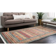 Unique Loom Pasadena Fars Area Rug - 9' x 12'