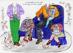 KINITA Y SU FAMILIA - Araceli Heloise - Álbumes web de Picasa Big Family, Children And Family, Bizarre, Vintage Paper Dolls, Retro Toys, Art Pages, Beautiful Children, Artist, Fun