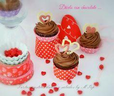 tartas pasteles dulces y salados by mpop: Cupcakes de Chocolate