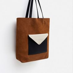 Image 3 of SUEDE HOLDALL WITH FRONT POCKET from Zara