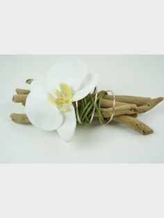 Bois flot on pinterest wine bottle wedding driftwood for Composition florale avec bois flotte