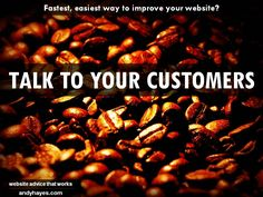 A fast, easy way to improve your website? - Andy Hayes