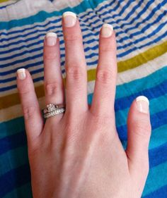 do your own french tipped nails and do them WELL! great tutorial....gonna have to try it sometime...