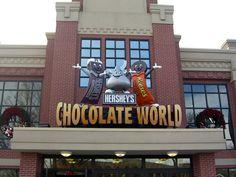 Hershey Park, PA Aka Chocolate town!
