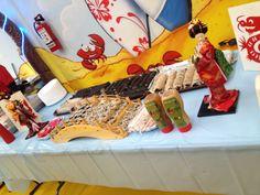 Servicio de comida china y japonesa para su fiesta