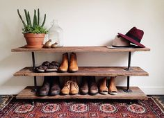 Shoe rack simple
