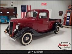 Ford : Other Pickups 1936 Ford Truck - http://www.legendaryfind.com/carsforsale/ford-other-pickups-1936-ford-truck/