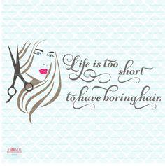 Hair quote svg hairstyle svg stylist svg hairstylist svg hair stylist svg hair salon svg hair dresser svg hairdresser svg dxf eps jpg by HomeberriesSVG on Etsy