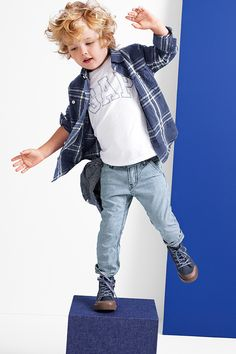 be your beautiful you in blue plaids and little logos. shop babyGap: http://gap.us/TbNew