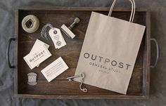 """""""Outpost"""" in Identity & Logos"""