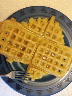 Paleo & Vegan Plantain Waffles (grain free, dairy free, egg free)