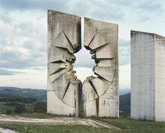 Brutalist war memorials of the former Yugoslavia look like the derelict spaceship from Alien
