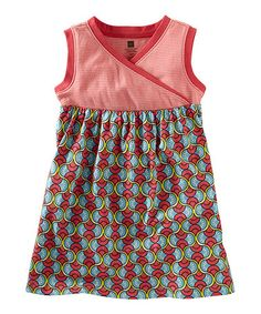 Take a look at this Azul Domba Surplice Dress - Girls by Tea on #zulily today!