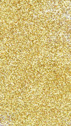 Gold Glitter Phone Wallpaper