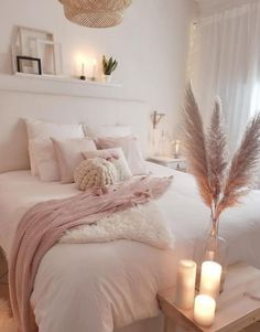 Cozy Bedroom Decor Idea Trends To be Warm This Winter for 2020 home design, home decorations, cozy warm home decor ideas, cozy bedroom ideas for teen, bedroom ideas trends for boho bedroom design Cozy Bedroom, Home Decor Bedroom, Bedroom Ideas, Scandinavian Bedroom, Bedroom Lamps, Wall Lamps, Teen Bedroom, Bedroom Wall, Shabby Bedroom