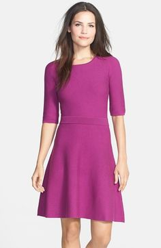 Trina Turk 'Cadence' Cotton Blend Sweater Dress available at #Nordstrom