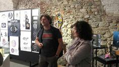 Le opere meravigliose dei ragazzi del Liceo artistico di Pietrasanta.  In visita alla mostra con il Maestro Helidon Xhixha.