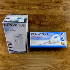 Kenwood electric can opener & electric knife bundle. There as new, the knife has only been used once. Electric Knife, Kitchen Products, Can Opener, Office Supplies, Ebay